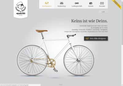 web minimalista