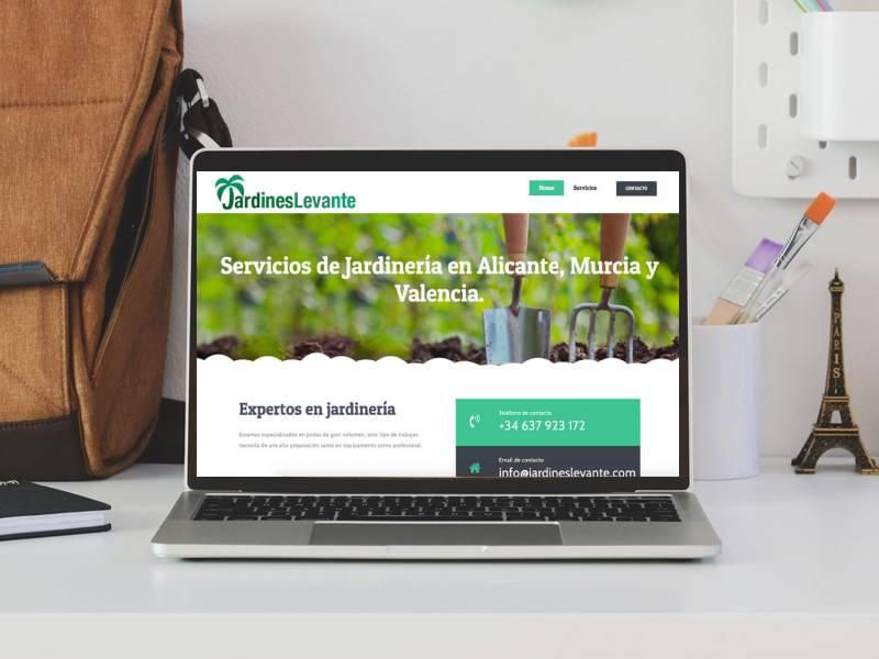 web jardineria