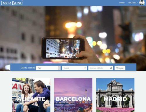 Instabono – Diseño Web de ofertas hoteleras